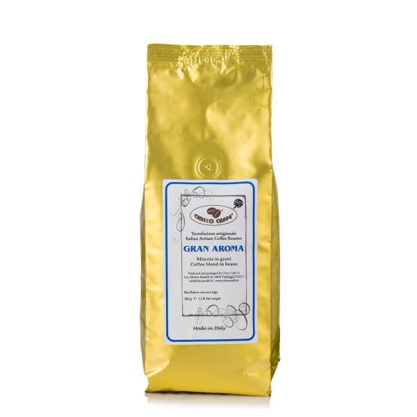 Roasted Coffee in beans 500gr\bag GRANAROMA