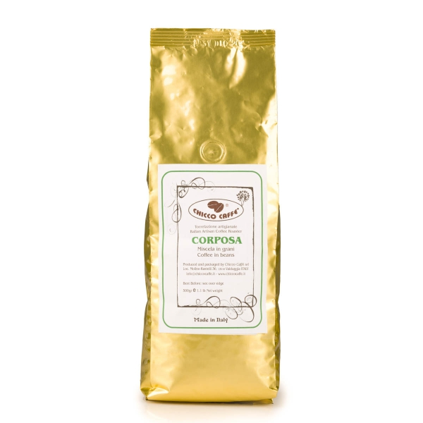 Roasted Coffee in beans 500gr\bag CORPOSA