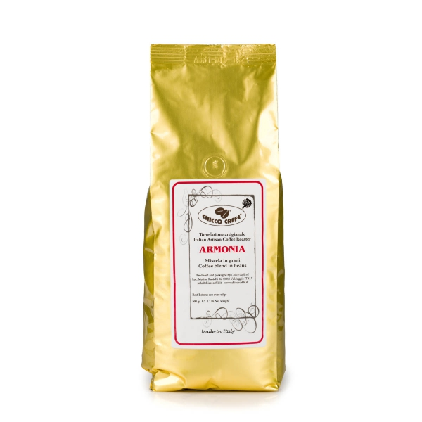 Roasted Coffee in beans 500gr\bag ARMONIA