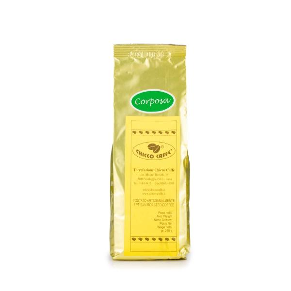 Roasted Ground Coffee Moka 250gr/bag CORPOSA