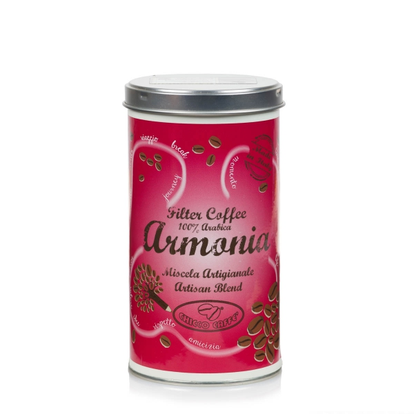 Roasted Ground Coffee in cans ARMONIASpecial for Filter Coffee 250gr/ can
